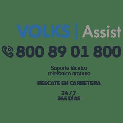 Teléfono Volks Assist 800 89 01800