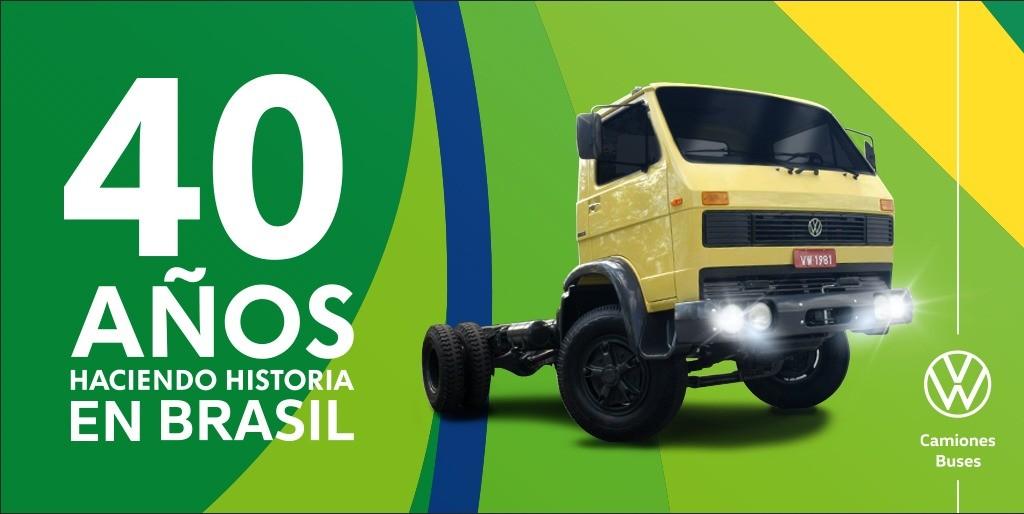 Hace 40 años llegaban los primeros camiones Volkswagen a Brasil